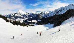 station de ski française d'Abondanc