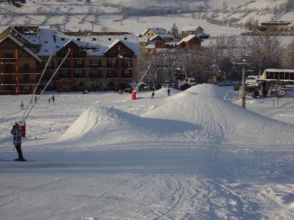 La Station de Ski d'Ancelle dans les Hautes Alpes