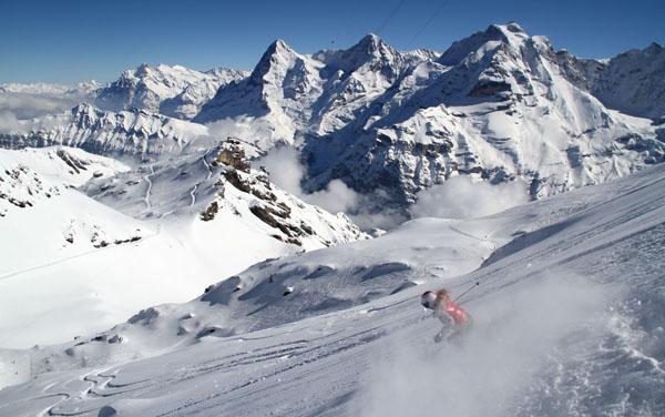 pourquoi skier dans les alpes suisses stations de ski. Black Bedroom Furniture Sets. Home Design Ideas